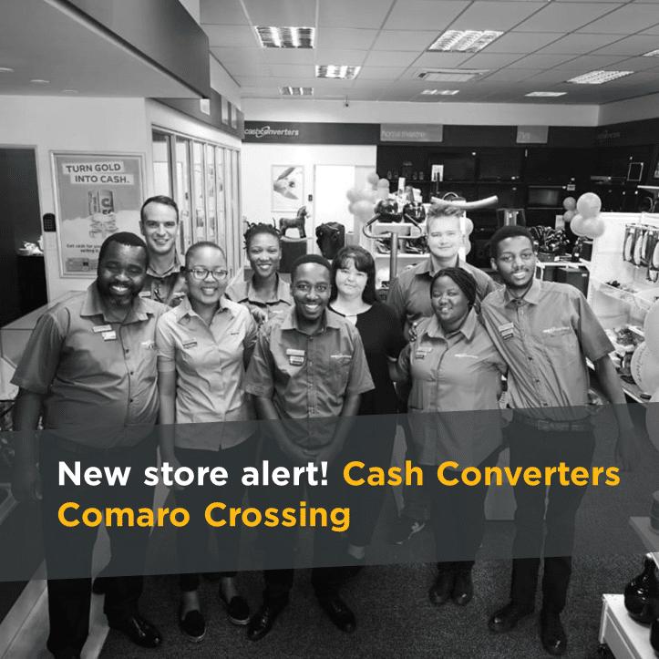New store alert! Cash Converters Comaro Crossing