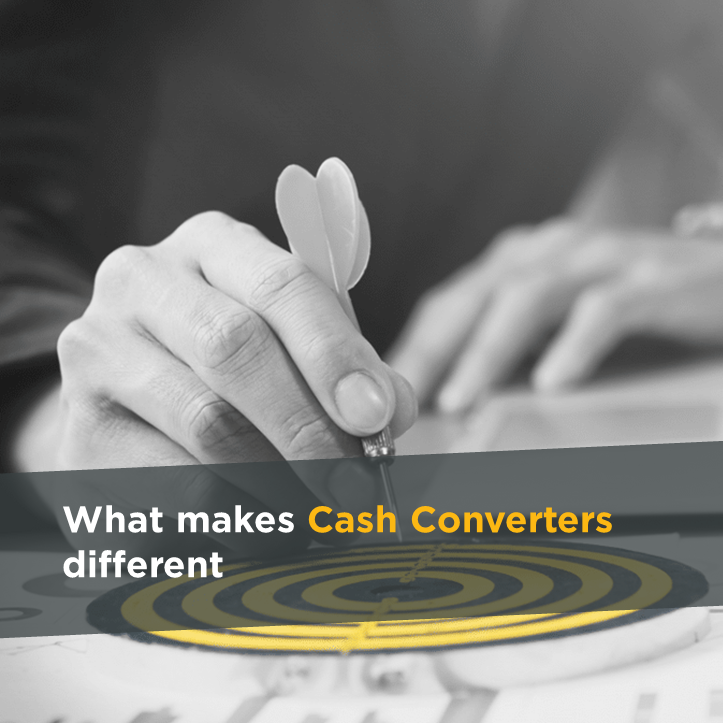 What makes Cash Converters different