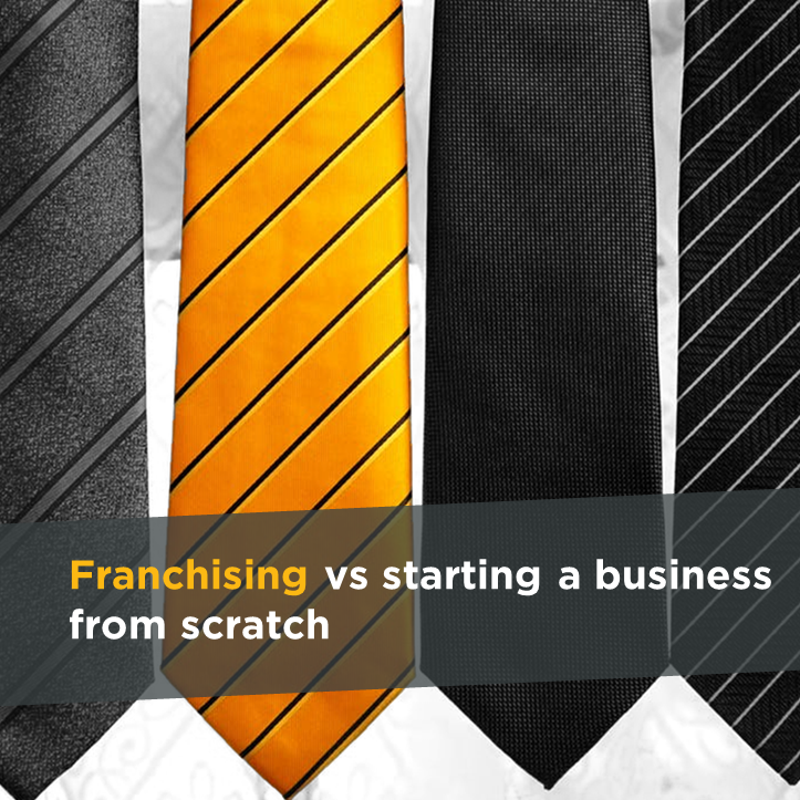 Franchising vs starting a business from scratch