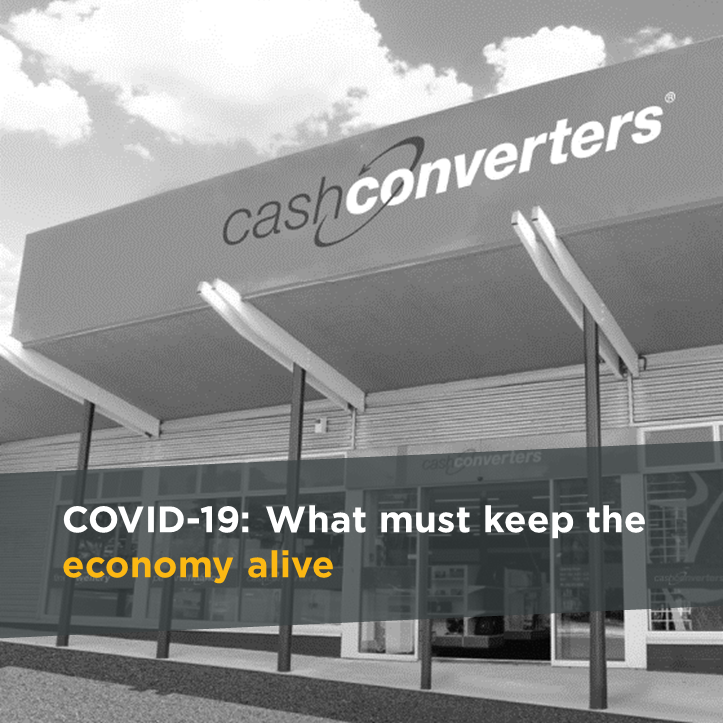 COVID-19: We must keep the economy alive