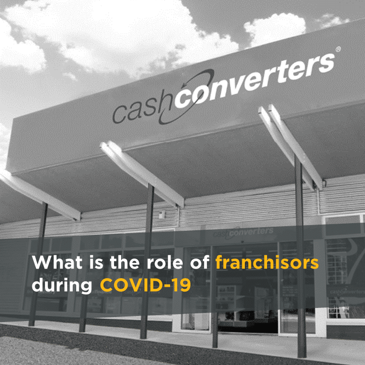 What is the role of franchisors during COVID-19
